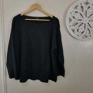 Eileen Fisher size L heavy knit sweater